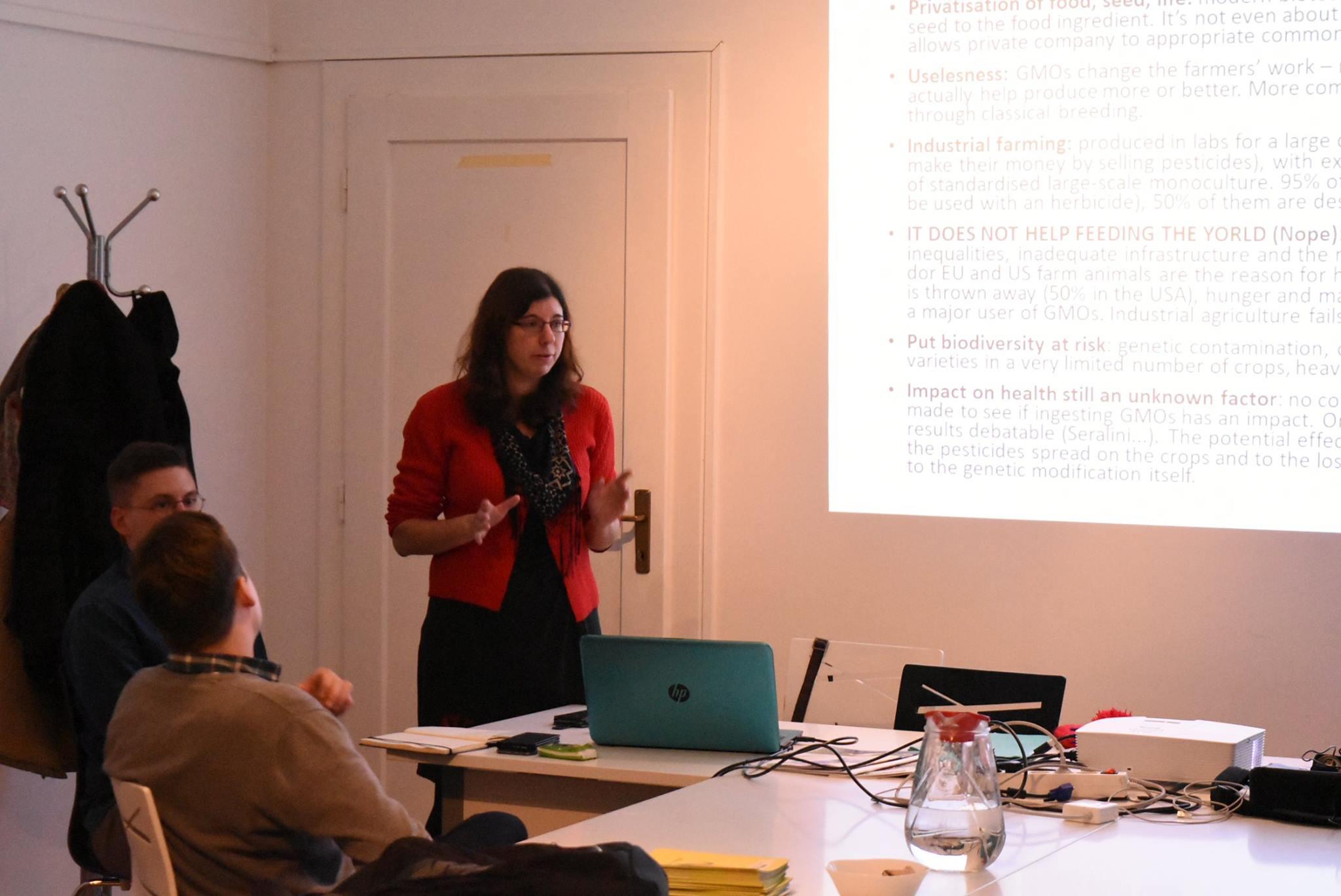 Održano predavanje Juliette Leroux o GMO