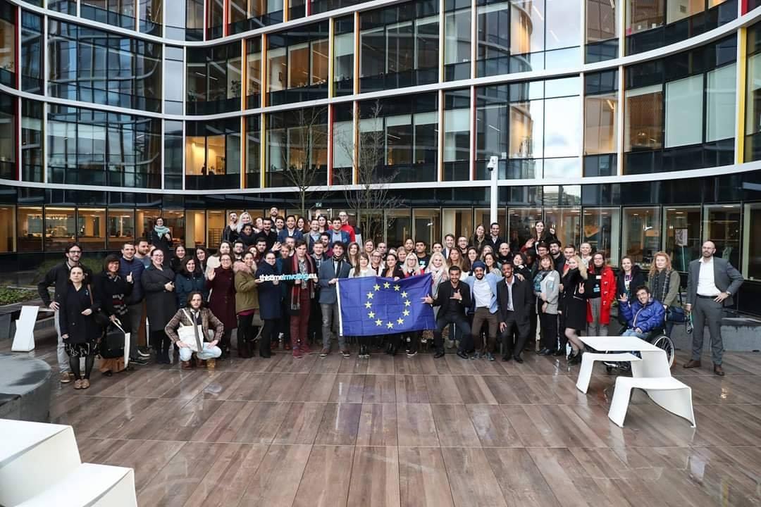 Sudjelovanje na sastanku za organizacije mladih u Europskom parlamentu