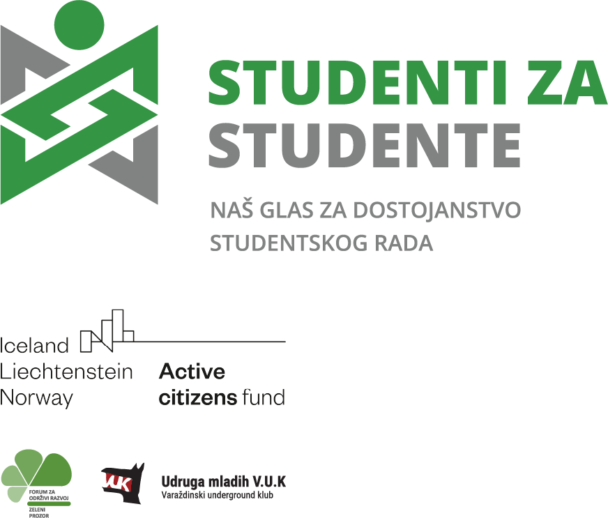 "Početak provedbe projekta ""Studenti za studente – naš glas za dostojanstvo studentskog rada"" / Start of the implementation of the project ""Students for students – our voice for the dignity of student work"" /"